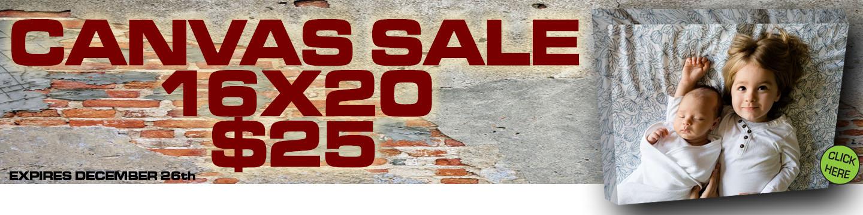Canvas Sale
