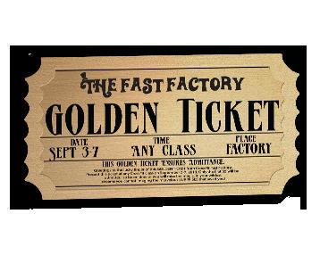 Die Cut Ticket