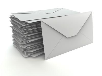 envelopes no printing